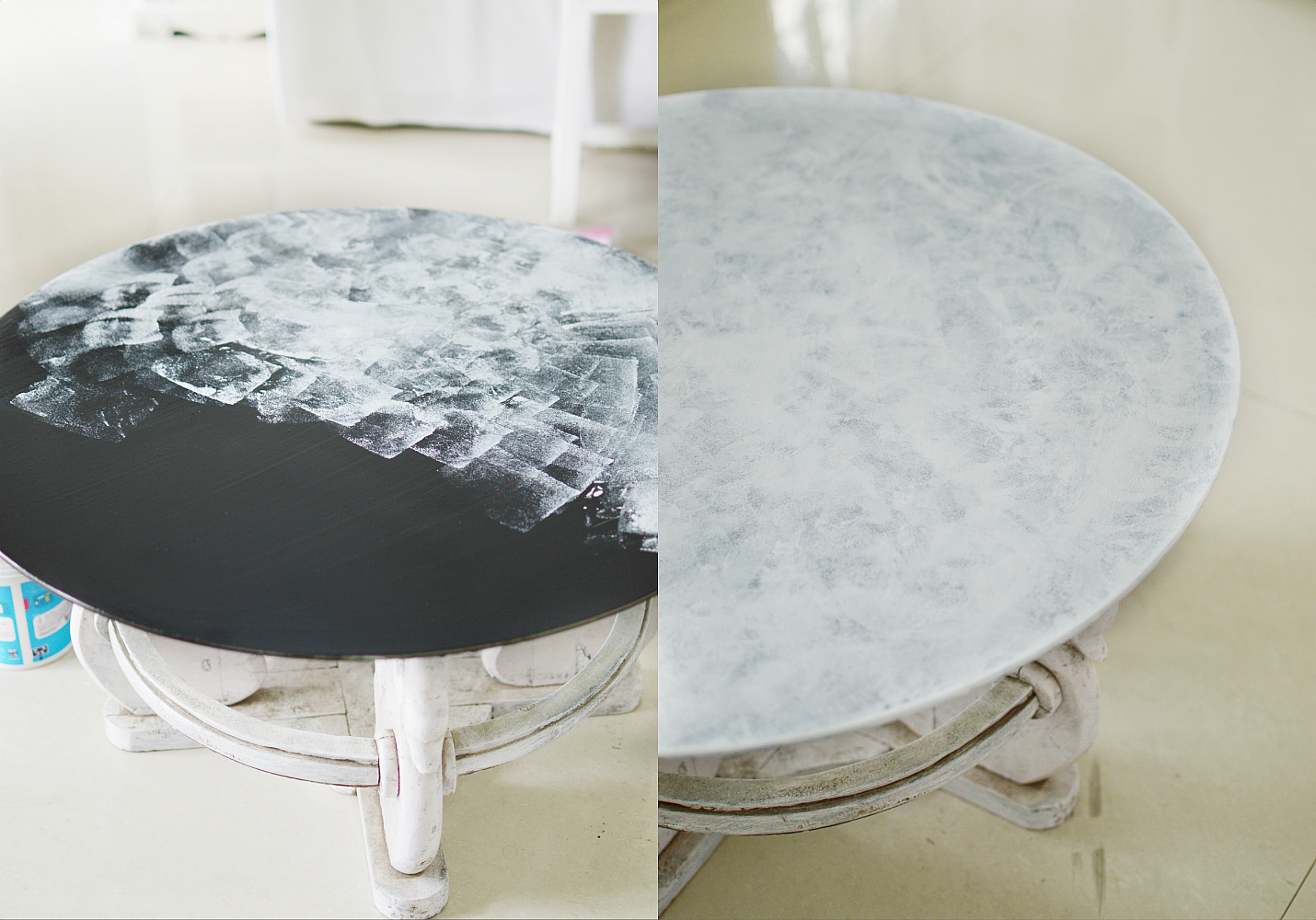 Marble Table Steps